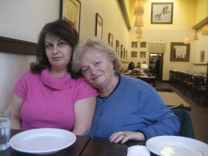 My lovely mom and grandmother.