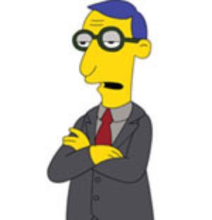 simpsons blue haired lawyer