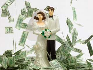 money marriage